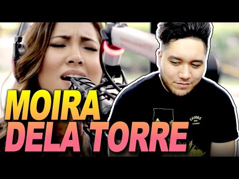 """Moira Dela Torre sings """"Malaya"""" LIVE on Wish 107.5 Bus REACTION!!!"""