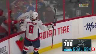 Александр Овечкин 694 гол в НХЛ 36 в сезоне до Гретцки 200 шайб 1 02 2020