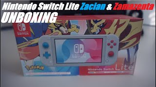 Nintendo Switch Lite - Zacian und Zamazenta Edition / unboxing / deutsch