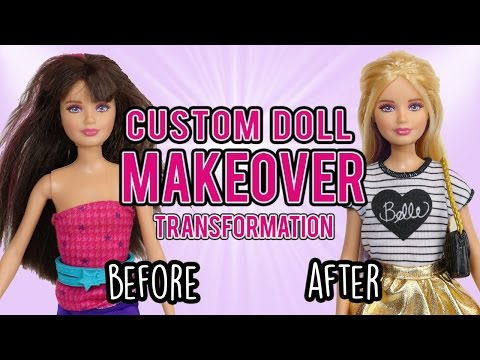 Barbie Custom Doll Makeover Transformation (#4: Skipper)