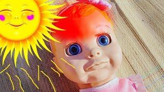 Говорящая кукла НАСТЯ Перегрелась Яна КАК Мама Видео для девочек