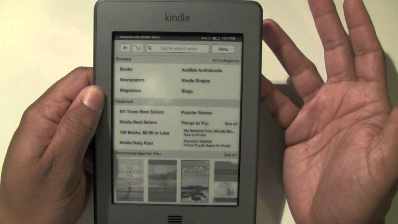 kindle touch for beginners h2techvideos youtube rh youtube com Amazon Kindle Paperwhite Amazon Books