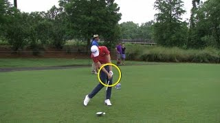 Daniel Berger's slo-mo swing is analyzed at Travelers