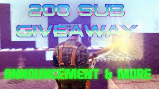 What does Legacy Man Do? 200 Sub Announcement - Fortnite PVE Save the World - Rare Weapon Giveaway