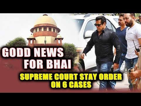 Big Relief For Salman Khan | Supreme Court Stays Proceedings Of 6 Cases