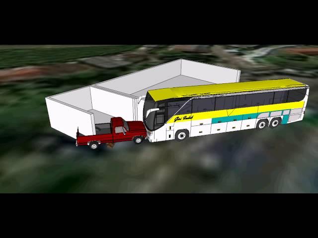 Kecelakaan Bus Giri Indah Cisarua Bogor