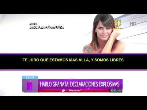 Amalia Granata habló del escándalo: La infidelidad para mí no es un tema
