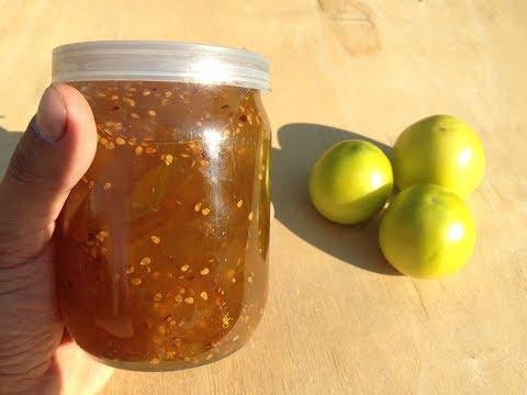 Варенье из зеленых помидор в мультиварке