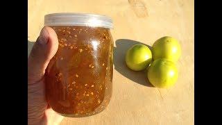 Варенье из зеленых помидоров / Заготовки на зиму