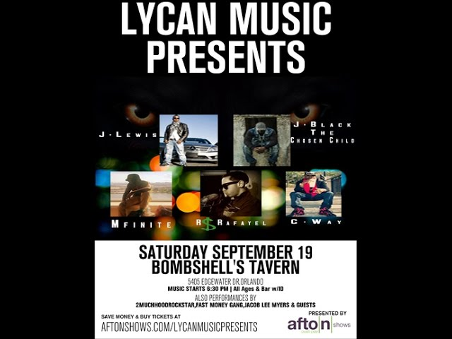 Lycan Music Presents - LIVE