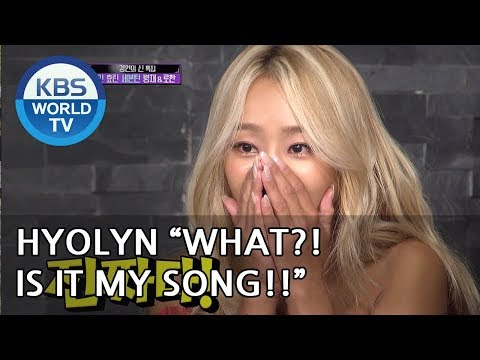 """HYOLYN """"IS IT MY SONG?!"""" [Happy Together/2018.08.09]"""