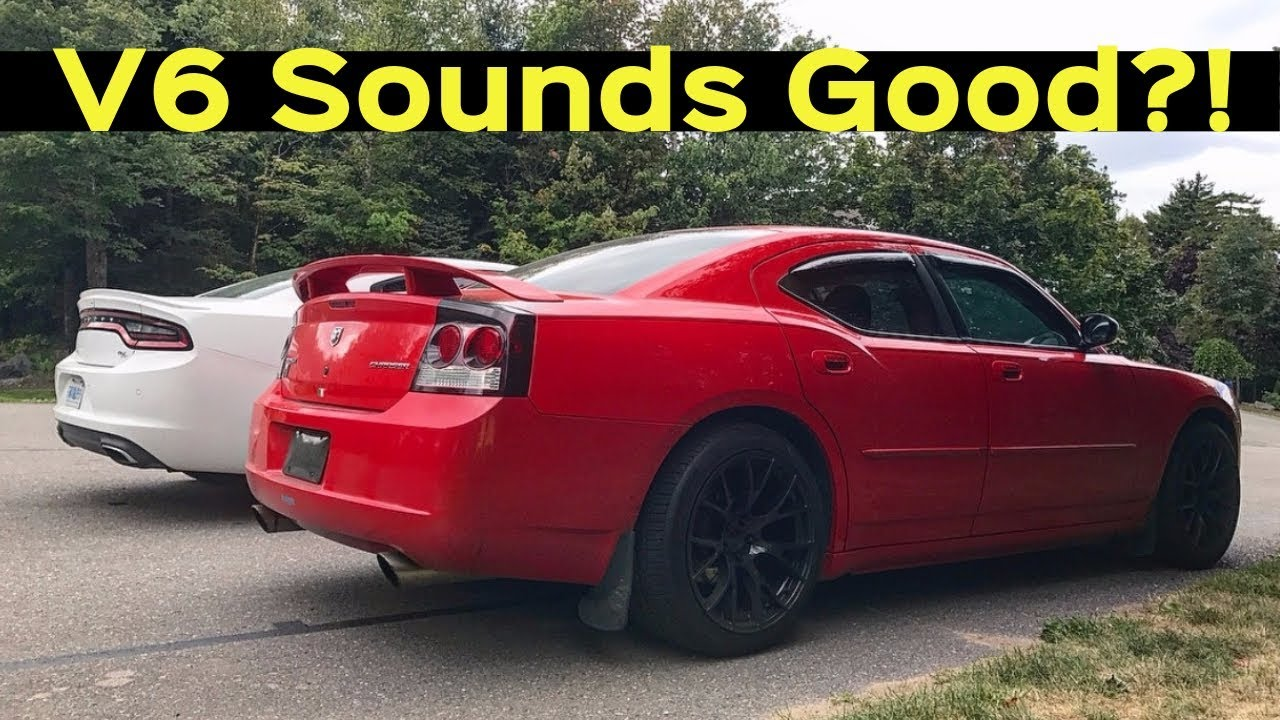 Guide to Making Your V6 Muscle Car Exhaust Sound GOOD - Charger,  Challenger, etc