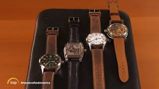 RGM Watch On INSP HandCrafted America