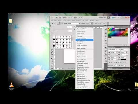 How to download and install Brushes in Photoshop CS5 Tutorial