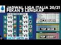 Jadwal Siaran Langsung Liga Italia 2020 Pekan 3 di RCTI & RCTIplus   Klasemen Serie A TIM