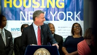 Mayor de Blasio Announces More than 17,300 Units of Affordable Housing Financed in 2014