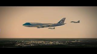 ssg boeing 747 8 airforce one honolulu kiev x plane 10