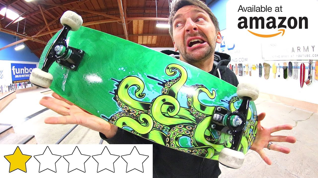 THE WORST REVIEWED AMAZON SKATEBOARD OF ALL TIME!
