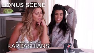 KUWTK | Kourtney Kardashian & Larsa Pippen Ask Fans for Talk Show Ideas | E!