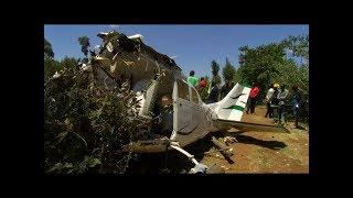 RESIDENTS ACCOUNTS PLANE CRASHED AT LONDIANI NAKURU COUNTY