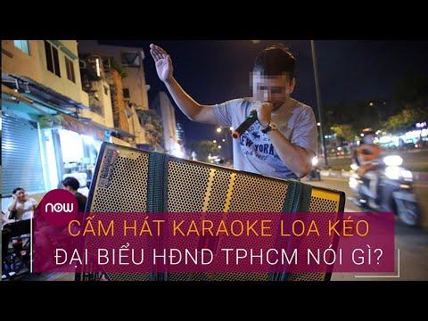Cấm hát karaoke loa kéo: Đại biểu HĐND TPHCM nói gì? | VTC Now