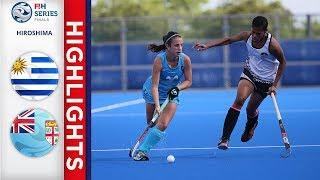 Uruguay v fiji   women's fih series finals match 7 highlights