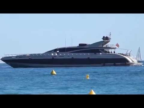 Ital Yacht 43 Elsea near Cannes, owned by Iksander Makhmudov