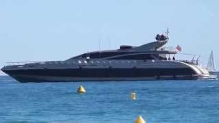 The US$ 25,000,000 Ital Yacht 43 Elsea near Cannes, owned by Iksander Makhmudov