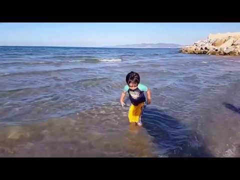Super fun at the beach -vacation in Tunisia