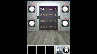 100 Doors 2013   Level 40   Walkthrough   All levels   Android   Apple