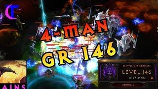 Diablo III Season 18 - 4man Greater Rift 146