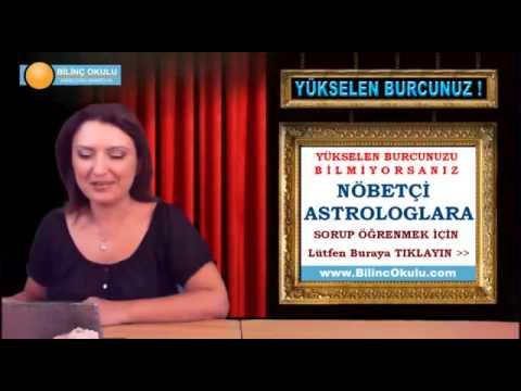 YAY Burcu Astroloji Yorumu  05 Ekim 2013  Astrolog DEMET BALTACI   astroloji, astrology