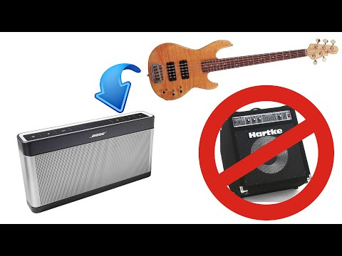 Using Bose Soundlink III as a bass amp - Working or not ?