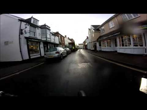 Exeter to Exmouth 29 Dec 2015
