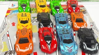 Review Toys Super Cars video for kid baby play toy