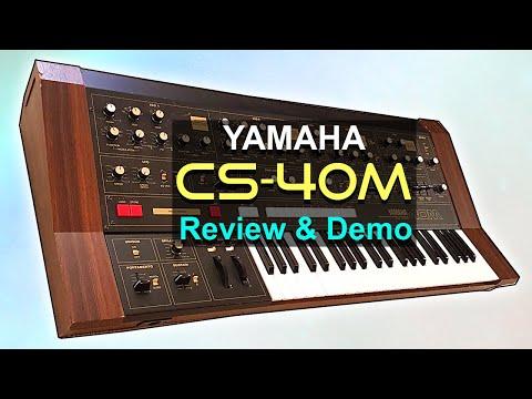 YAMAHA CS-40M - Review, Sounds & Demo | Analog Synthesizer