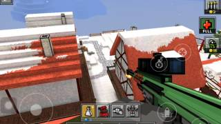 Playing pixel gun 3d: the jet pack and big robot