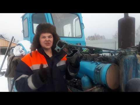 Т-40АМ Настройка впрыска в мороз!!!