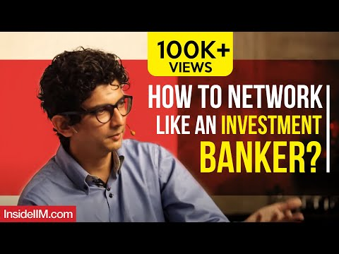 How To Network Like An Investment Banker? Harsh Parikh, Ex-Director - IB, DSP Merrill Lynch - Part 3