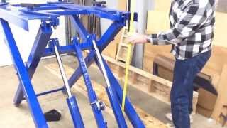Harbor Freight Scissor Lift #91315 review wrap up.