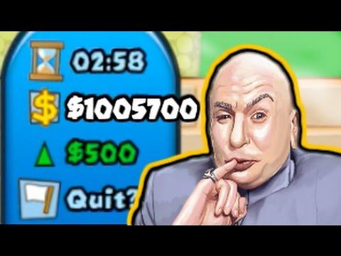 $1,000,000 on ROUND 11 | Dr. Evil Challenge! (Bloons TD Battles / BTD Battles)