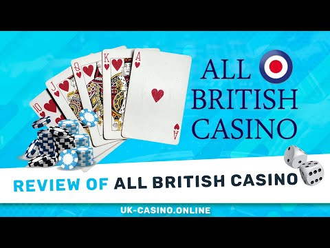 All British Casino Full Review ᐉ Bonus Offers ᐉ Slots Online video preview