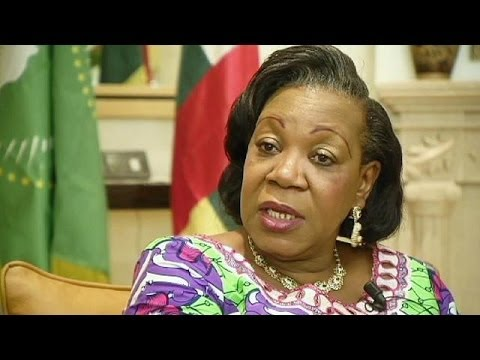 Central African Republic's new interim president Catherine Samba-Panza says killers will go...