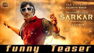 Sarkar Official Teaser motta rajenthiran version comedy troll funny modda rajendiran Thalapathy Vija