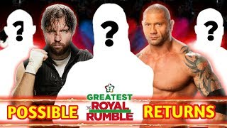 5 Big Superstars Surprise Returns Might Happen At Greatest Royal Rumble Match !