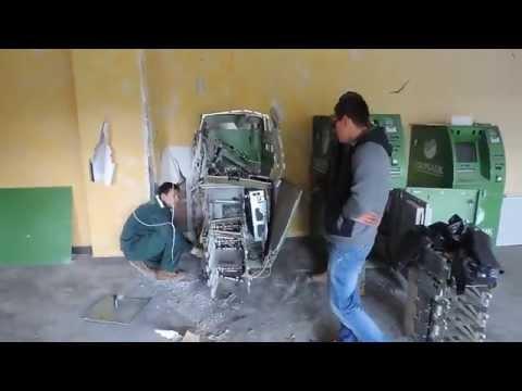 В Казани взорвали банкомат Сбербанка