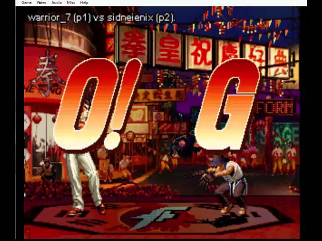 the king of fighters 97 warrior vs Sidneienix