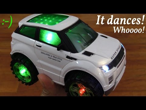 Toy Car for Toddlers: A Dancing Bump & Go Vehicle w/ Lights and Music Unboxing w/ Maya