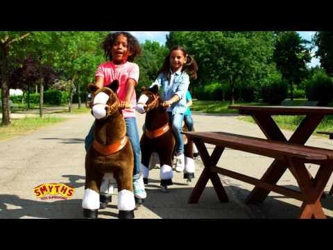 Smyths Toys - Pony Cycle Ride-On Pony