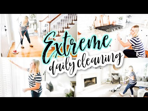 2020 EXTREME CLEAN WITH ME | DAILY CLEANING MOTIVATION | NEW YEAR CLEANING ROUTINE